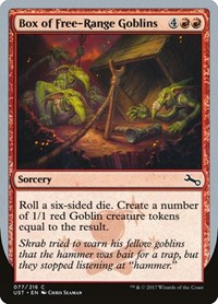 Box of Free-Range Goblins, Magic: The Gathering, Unstable