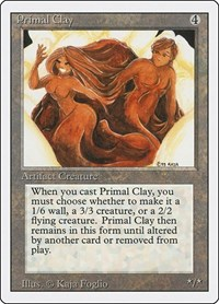 Primal Clay, Magic: The Gathering, Revised Edition