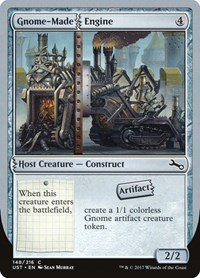 Gnome-Made Engine, Magic: The Gathering, Unstable