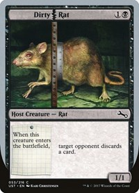 Dirty Rat, Magic: The Gathering, Unstable