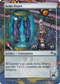 Arms Depot, Magic, Unstable