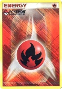 Fire Energy (2009 Unnumbered POP Promo), Pokemon, League & Championship Cards