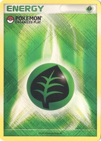 Grass Energy (2009 Unnumbered POP Promo), Pokemon, League & Championship Cards