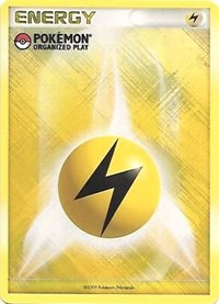 Lightning Energy (2009 Unnumbered POP Promo), Pokemon, League & Championship Cards