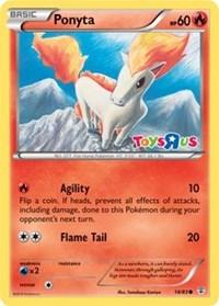 Ponyta (Toys R Us Promo), Pokemon, Miscellaneous Cards & Products