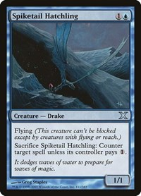Spiketail Hatchling, Magic: The Gathering, 10th Edition