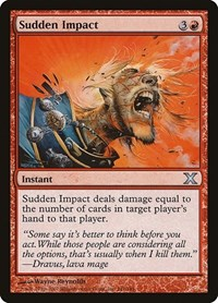 Sudden Impact, Magic: The Gathering, 10th Edition