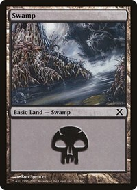Swamp (373), Magic: The Gathering, 10th Edition
