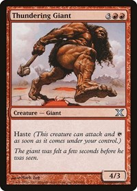 Thundering Giant, Magic, 10th Edition