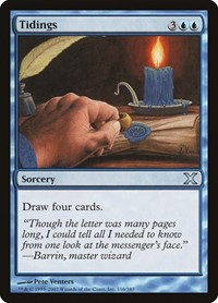 Tidings, Magic: The Gathering, 10th Edition
