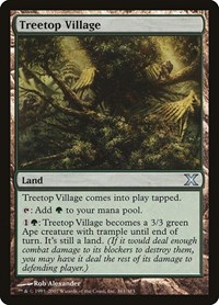 Treetop Village, Magic: The Gathering, 10th Edition