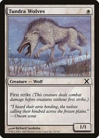Tundra Wolves, Magic, 10th Edition