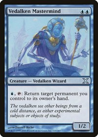Vedalken Mastermind, Magic, 10th Edition