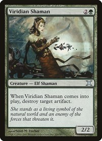 Viridian Shaman, Magic: The Gathering, 10th Edition