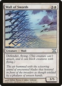 Wall of Swords, Magic: The Gathering, 10th Edition