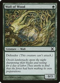 Wall of Wood, Magic: The Gathering, 10th Edition