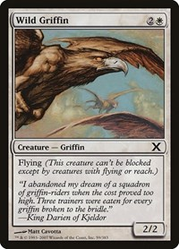 Wild Griffin, Magic: The Gathering, 10th Edition