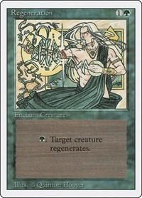 Regeneration, Magic: The Gathering, Revised Edition