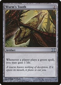 Wurm's Tooth, Magic: The Gathering, 10th Edition