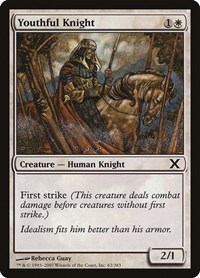 Youthful Knight, Magic: The Gathering, 10th Edition