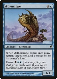 Aethersnipe, Magic: The Gathering, Lorwyn