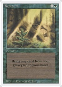 Regrowth, Magic: The Gathering, Revised Edition