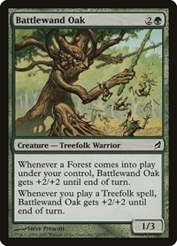 Battlewand Oak, Magic: The Gathering, Lorwyn
