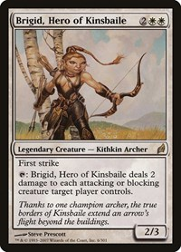 Brigid, Hero of Kinsbaile, Magic: The Gathering, Lorwyn