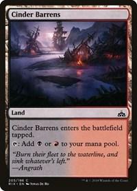 Cinder Barrens, Magic: The Gathering, Rivals of Ixalan