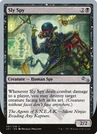 Sly Spy (B), Magic: The Gathering, Unstable