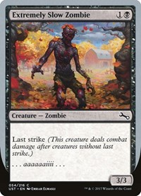 Extremely Slow Zombie (B) (Foil)