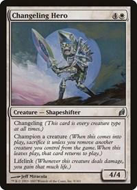 Changeling Hero, Magic: The Gathering, Lorwyn