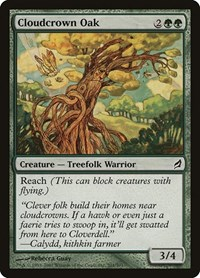 Cloudcrown Oak, Magic: The Gathering, Lorwyn