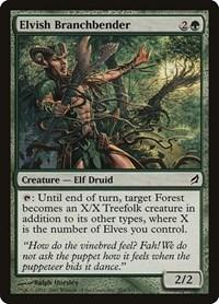 Elvish Branchbender, Magic: The Gathering, Lorwyn