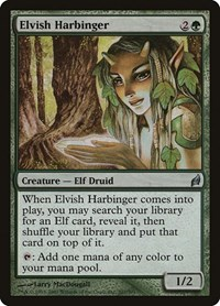 Elvish Harbinger, Magic: The Gathering, Lorwyn