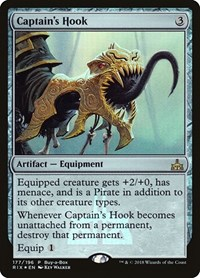 Captain's Hook, Magic: The Gathering, Buy-A-Box Promos