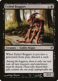 Exiled Boggart, Magic: The Gathering, Lorwyn
