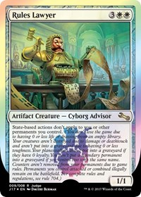 Rules Lawyer, Magic: The Gathering, Judge Promos
