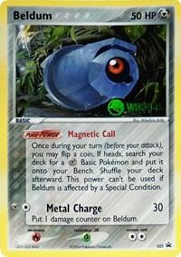 Beldum (Winner), Pokemon, League & Championship Cards