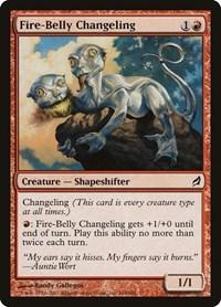 Fire-Belly Changeling, Magic: The Gathering, Lorwyn