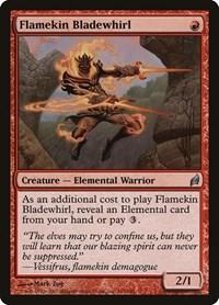 Flamekin Bladewhirl, Magic, Lorwyn