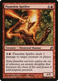 Flamekin Spitfire, Magic: The Gathering, Lorwyn
