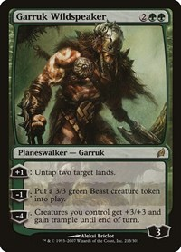 Garruk Wildspeaker, Magic: The Gathering, Lorwyn