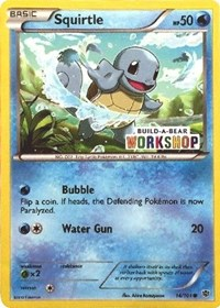 Squirtle (Build-A-Bear Workshop Exclusive), Pokemon, Miscellaneous Cards & Products