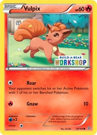 Vulpix (Build-A-Bear Workshop Exclusive), Pokemon, Miscellaneous Cards & Products