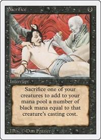 Sacrifice, Magic: The Gathering, Revised Edition