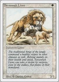 Savannah Lions, Magic: The Gathering, Revised Edition