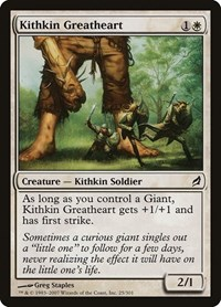 Kithkin Greatheart, Magic, Lorwyn