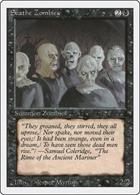Scathe Zombies, Magic: The Gathering, Revised Edition