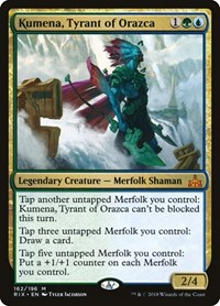 Kumena, Tyrant of Orazca, Magic: The Gathering, Rivals of Ixalan